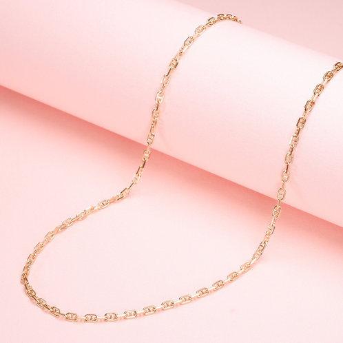 9k Horseshoe Chain Necklace