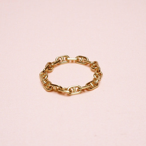 9k Horseshoe Chian Ring
