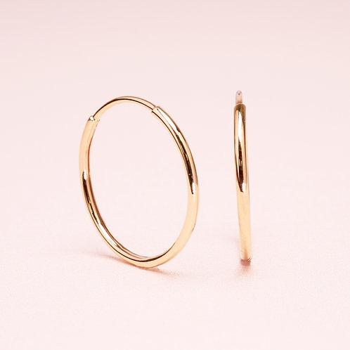 9k Simple Hoop earring