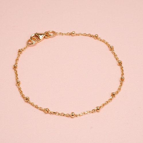 9k Ball Chain Bracelet