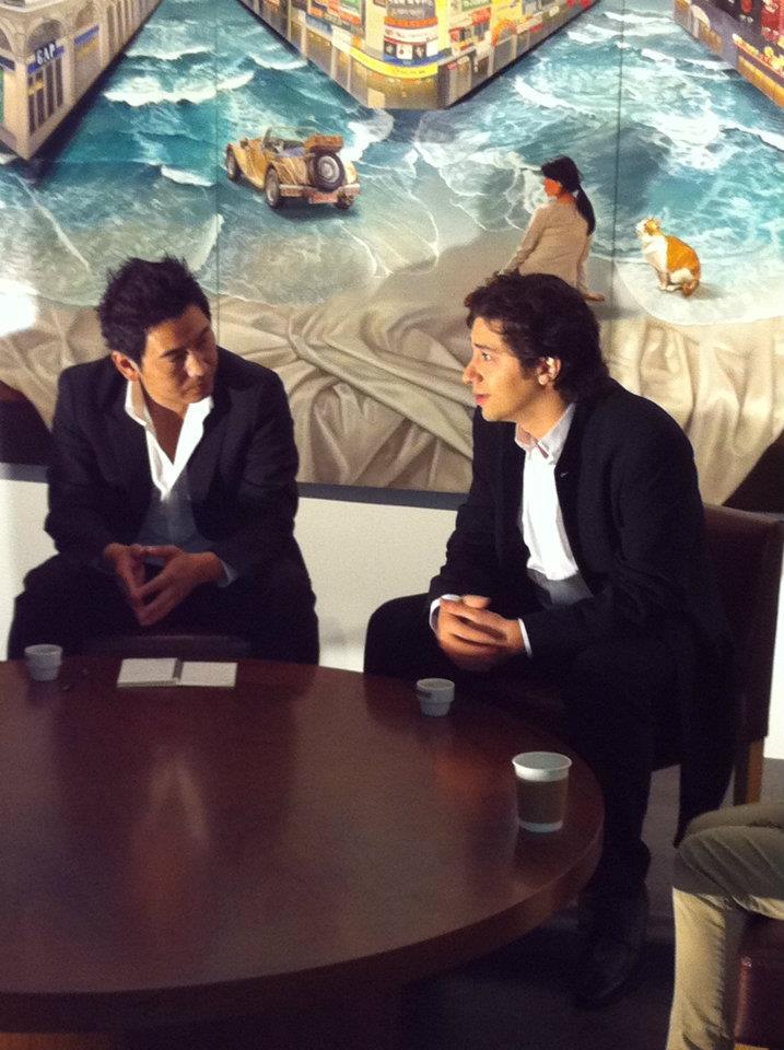 Interviewing Sergio Tiempo