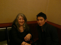 With Ms Argerich