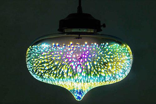 Tear Fluorescent Rainbow Light Ceiling Pendant Light
