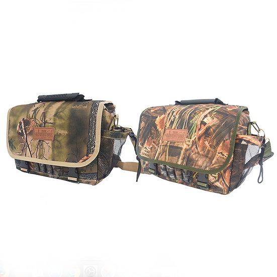 Outdoor shoulder bag with print