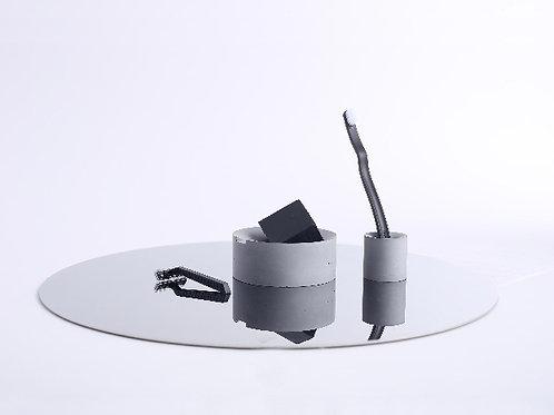 Concrete Bathroom Set