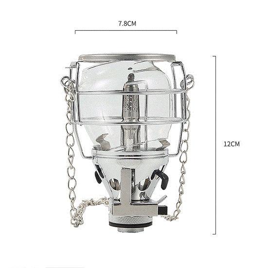 Camping gas lantern lamp