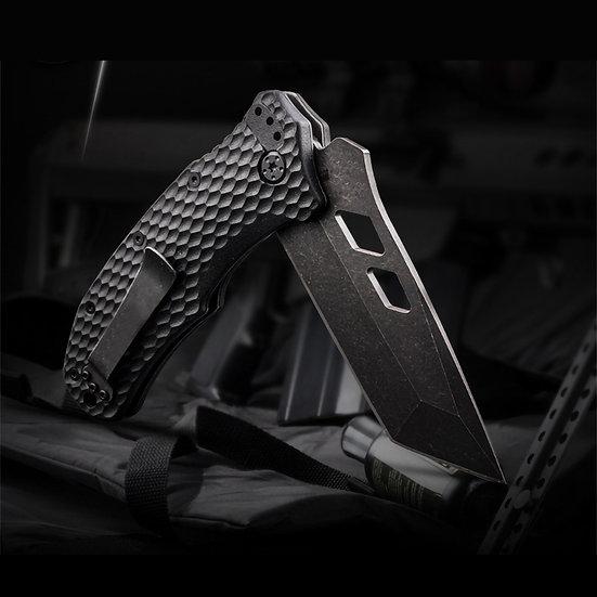 Grey Wolf Folded Blade Knife