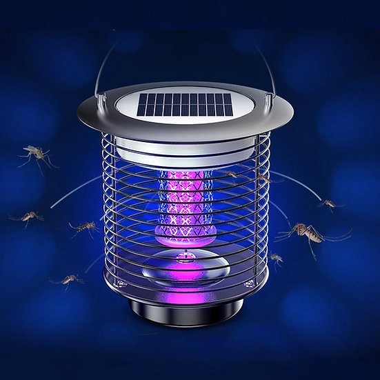 Solar power mosquito LED light lamp II