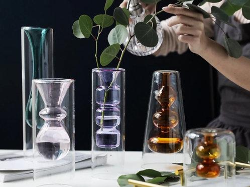 Bubble Colored Vase