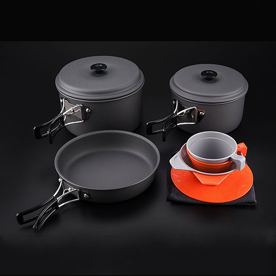 Stove system 11 pcs Cook Set