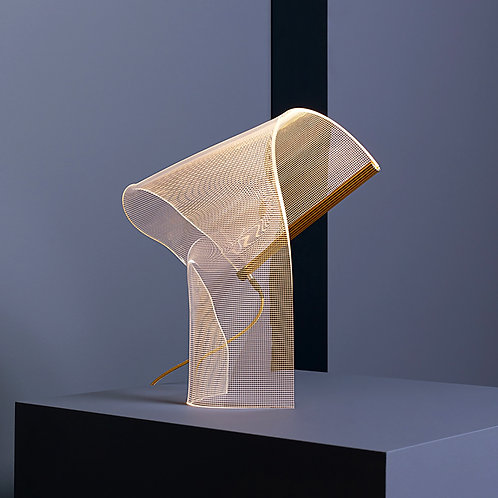 Twirl table lamp