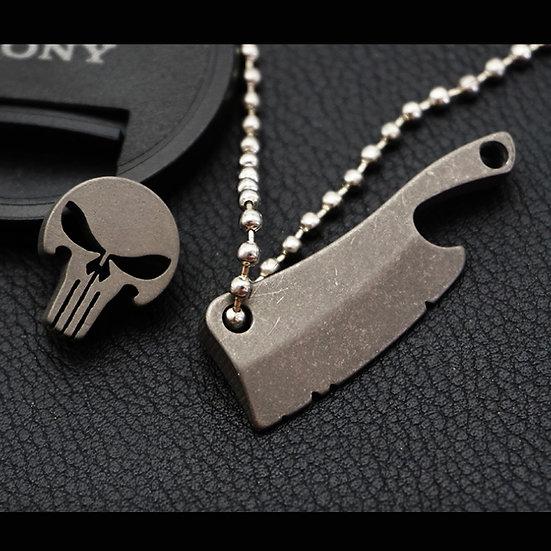 Skull / Knife Charm