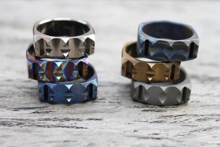 Titanium Tritium Ring