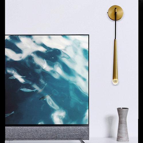 Long Metal Ding Lamp Wall Light