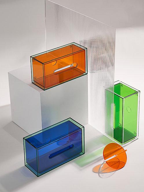 Rainbow Tissue Box