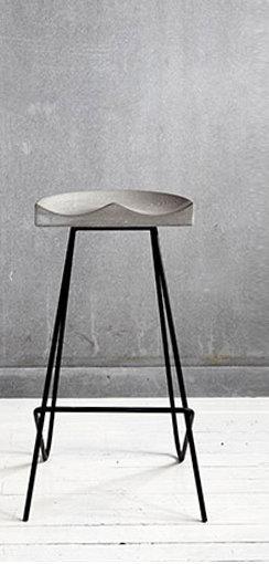 Concrete Bar Chair