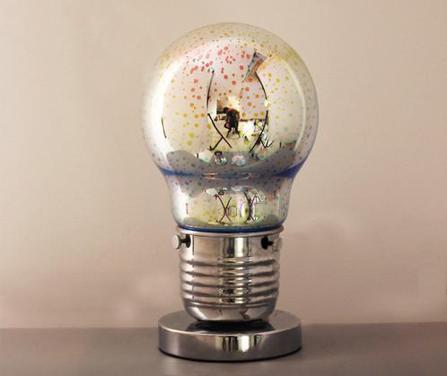 Fluorescent Rainbow Light Bulb Desk Lamp – Desk Lamp Light Bulb