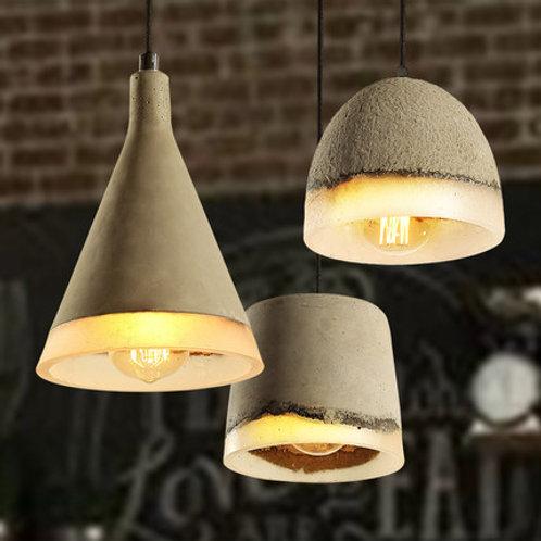 Retro Cement Ceiling Pendant Light