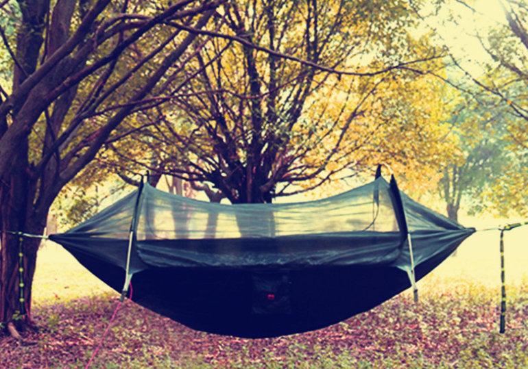 Extended Hammock Tree Tent