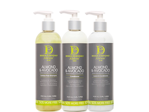 Almond and Avocado Moisture package