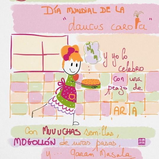 3 de febrero #díasdelmundomundial de la zanahoria