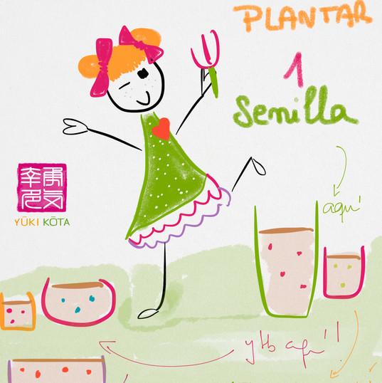 #díasdelmundomundial de plantar una semilla