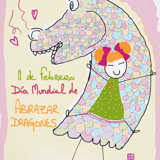 11 de febrero #díasdelmundomundial de abrazar dragones