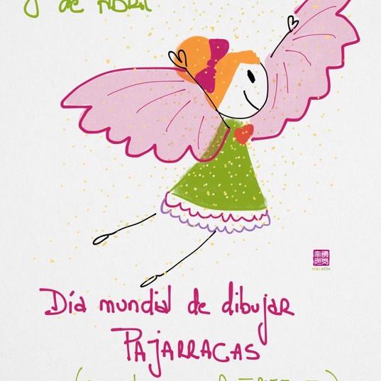 8 de abril #díasdelmundomundial de dibujar un pájaro