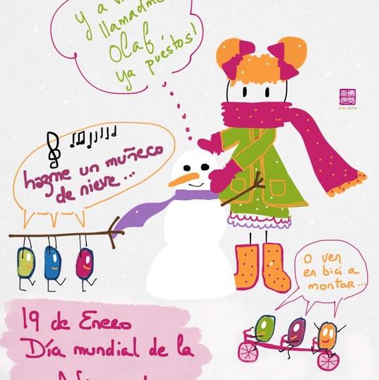 19 de enero #díasdelmundomundial de la nieve