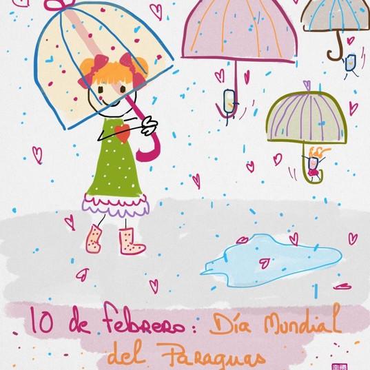 10 de febrero #díasdelmundomundial del paraguas