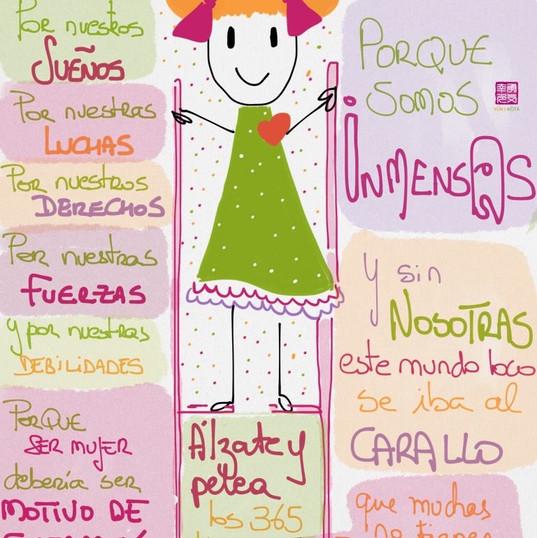 8 de marzo #díasdelmundomundial de las chicas