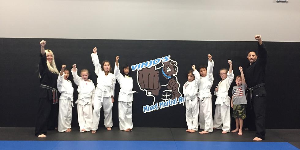 FREE Beginner Kids Karate Workshop Apex, NC