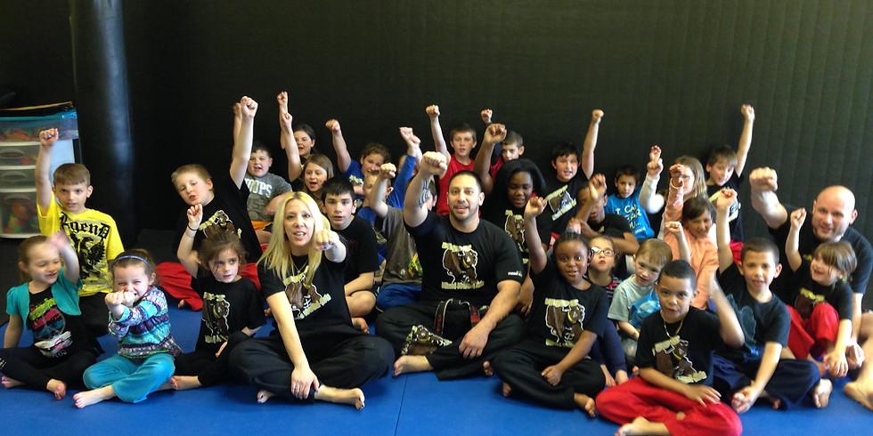 Kids Beginner Martial Arts Workshop (ages 4-12)