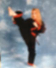 Vinjos Martial Arts Sensei Joanne