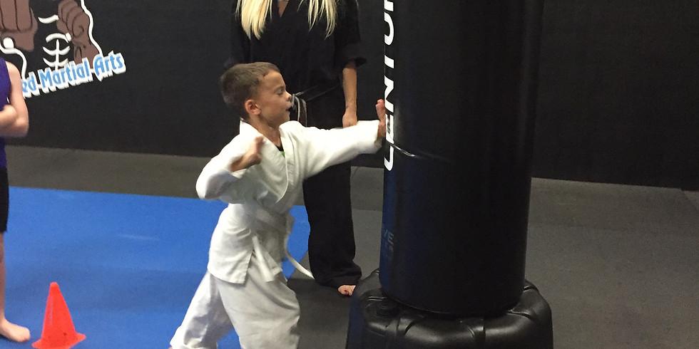 FREE Beginner Kids Karate Workshop!