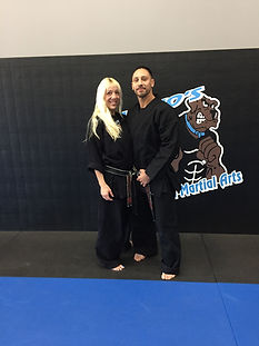 Vincent and Joanne Stasi are the owners of Vinjos Martial Arts