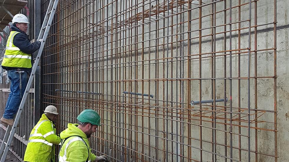 4m+ Retaining wall @ Ripon - Dec 17 - Jan 18