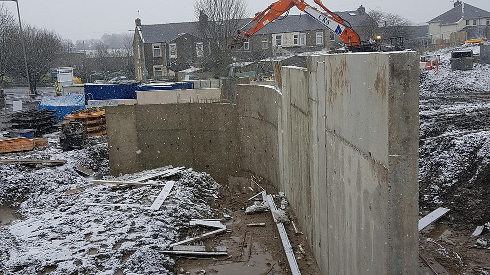 Radius wall - CRS Civils Jan 18