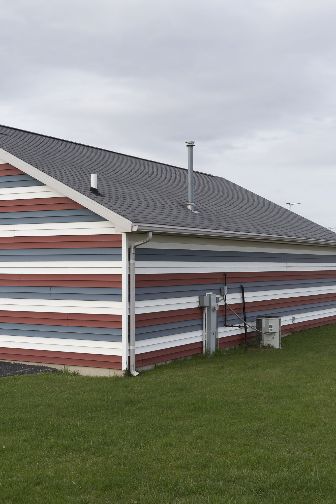 Siding in Stripes