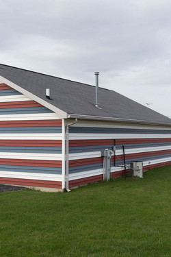 Siding in Stripes