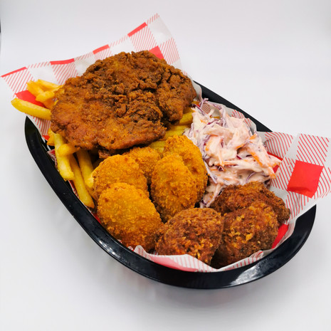 Huns Chicken Basket