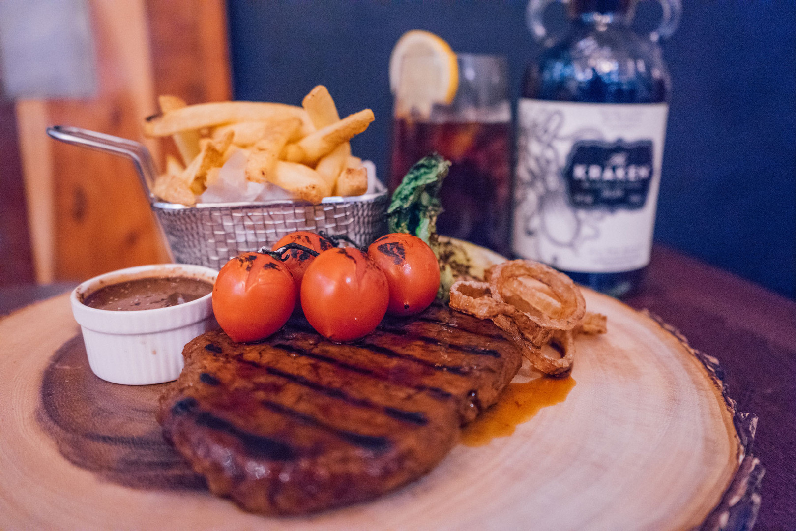 7oz Seitan Steak Board £15.95