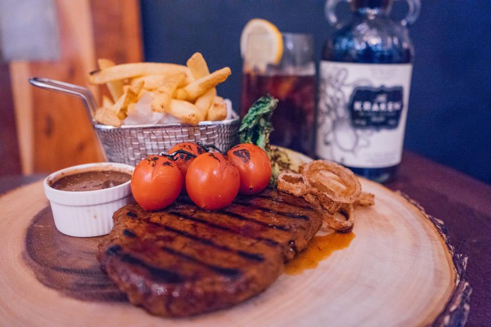 7oz Seitan Steak Board £15.95