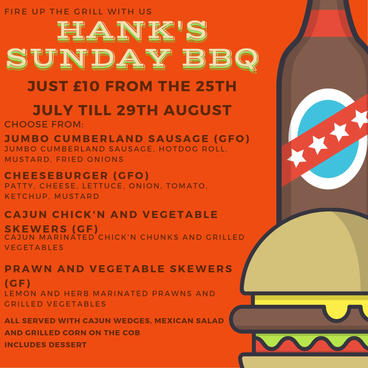 Hank's Sunday BBQ Special