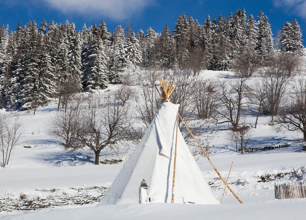 The Tipi at Chalet Rosière