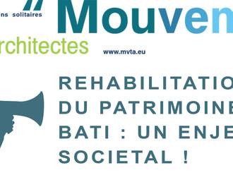 REHABILITATION DU PATRIMOINE UN ENJEU SOCIETAL !