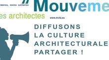 DIFFUSONS LA CULTURE ARCHITECTURALE PARTAGER !