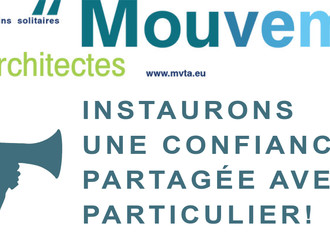 INSTAURONS UNE CONFIANCE PARTAGÉE AVEC LE PARTICULIER !