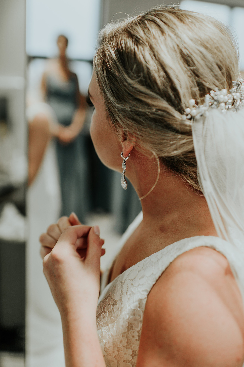 bride, getting ready