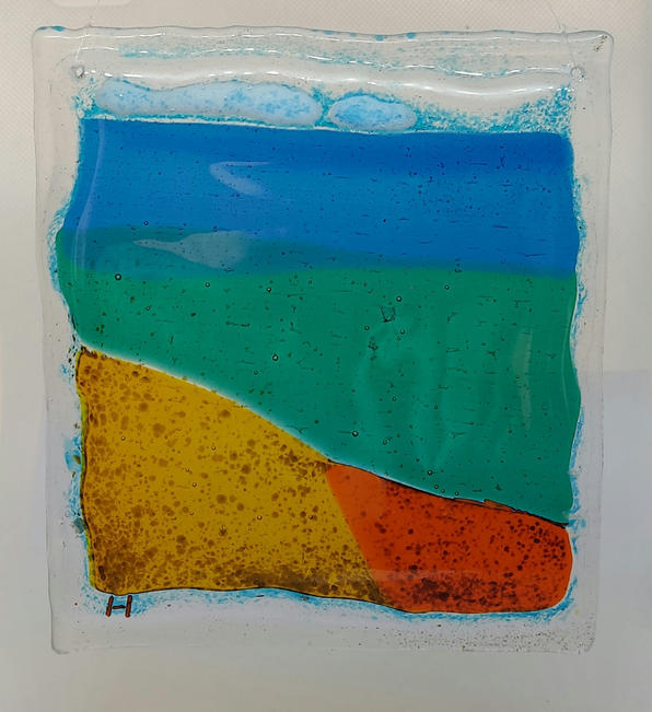 Small fused glass 2
